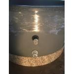 Hottub met 12 Luchtjets / 6 Waterjets en aansluiting zandfilter